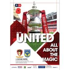 HYUFC v Oxford United - 2019 Programme