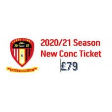 HYUFC Season Ticket - NEW - Concession