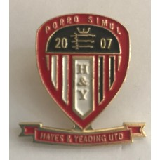 HYUFC Enamel Badge